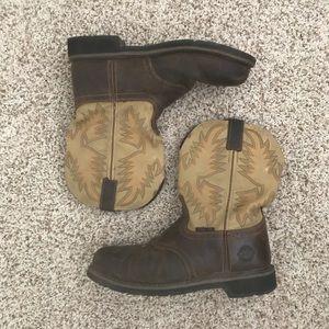 Justin Shoes Sea Turtle Cowboy Boots Size 6 12 D Poshmark